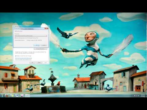 How to Change Date and Time in Windows 7 Tutorial