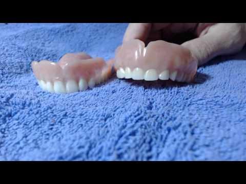 Temporary VS. Permanent denture