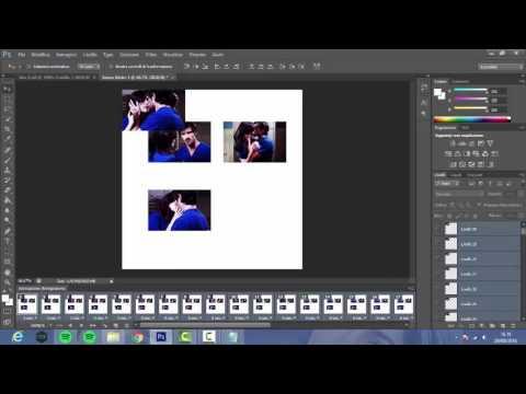 Gif sullo stesso foglio di lavoro -  Photoshop CS6