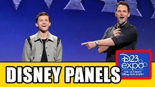 D23 All Panels - Marvel, Star Wars, Pixar & Disney Animation Highlights