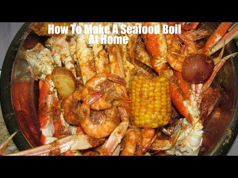 How To Make Seafood Boil At Home Plus Beloves Sauce/ Boiling Crab Sauce