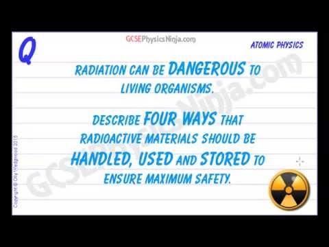 Radiation Safety Basics - Usage and Storage - GCSE Physics