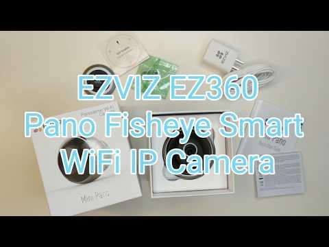 EZVIZ Ez360 Panorama Fisheye Smart WiFi Indoor Camera (MINI PANO)