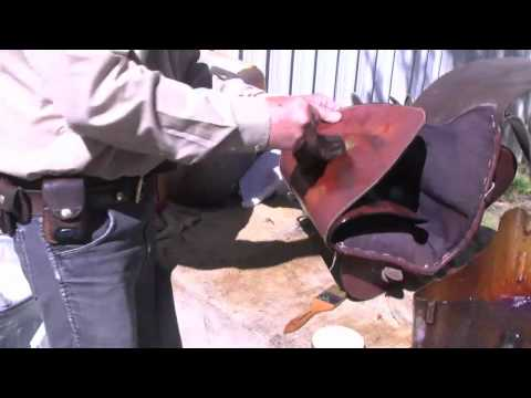 Horse Saddle Care, Oil Treating your Leather Saddles for Long Saddle Life