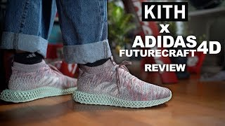 on sale 38a9c 933c2 Kith x Adidas Futurecraft 4D On Feet + Review