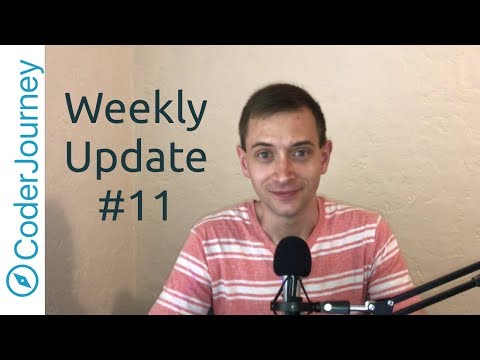 Weekly Update #11 - Becoming Less Static
