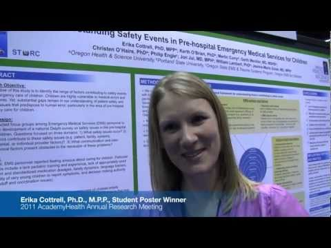 2011 Annual Research Meeting: Virtual Poster Presentation, Erika Cottrell