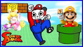 Let's Play Mario and Sonic Rio Olympic Games with Combo Panda