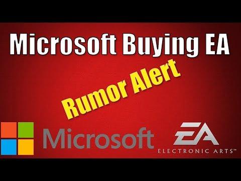 Microsoft Might Buy EA