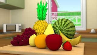 Download Cutting fruits in the kitchen Video