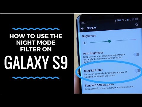 How to Use the Galaxy S9 Night Mode