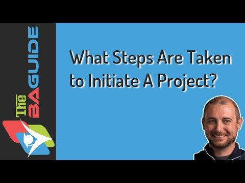 What Steps Are Taken to Initiate A Project?