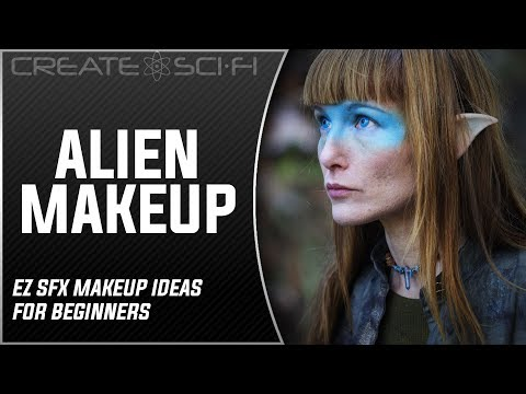 Easy Alien/Scifi Makeup Tutorial: How To Apply An Ear Prosthetic