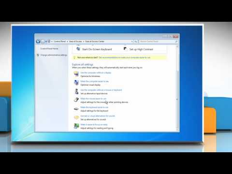How to Change Mouse Pointer Color and Size on Windows 7 PC