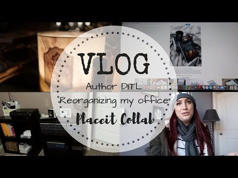 VLOG | Placeit Collab | Reorganizing My Home Office