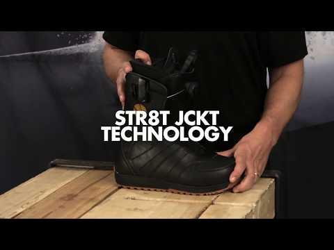 Salomon Snowboards - STR8JKT Boot Tech