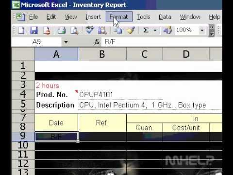 Microsoft Office Excel 2003 Remove a sheet background pattern