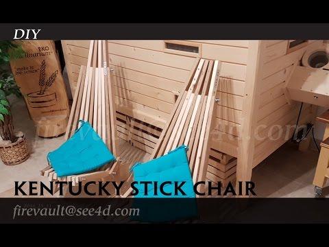 DIY- Kentucky stick chair