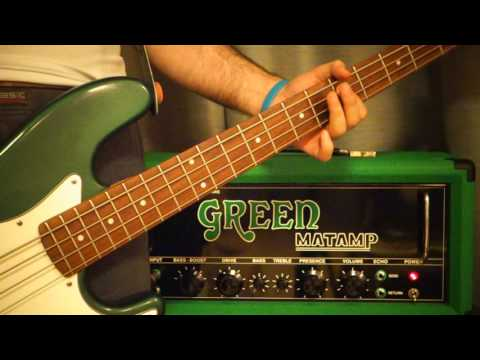 Matamp GT120 Boss HM-2 Sleep Dragonaut bass cover