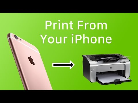 iOS Basics: How To Print From iOS With AirPrint