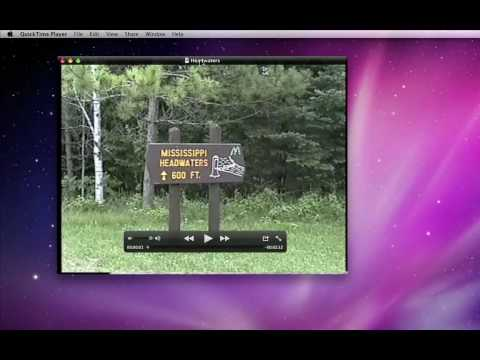 Trim and Share video with Quicktime X in Mac OSX Snow Leopard