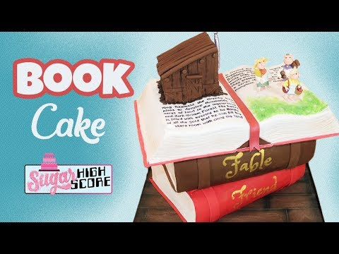 How To Make a Book Cake (The Grimm Forest Cake)