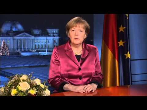 Merkel Slams Russia in New Year Speech: German leader calls on Europe to unite against Russia threat