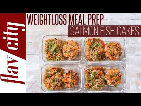 Epic Recipes For Weight Loss Under 390 Calories - Healthy Salmon Meal Prep