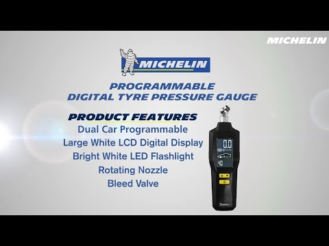 MICHELIN Programmable digital tyre pressure gauge