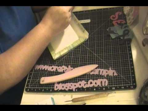 Creating 3D Frames from the Cricut Word of Mouth Cartridge