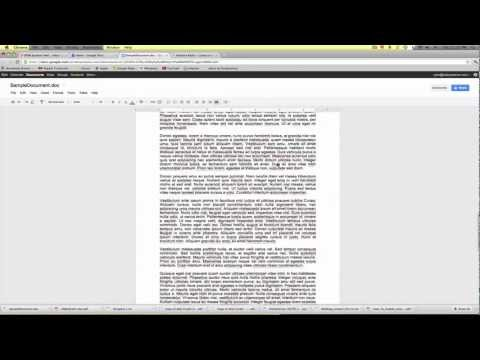 How To Create A PDF For Free With Google Docs