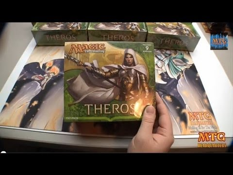 MTG Theros Fat Pack Opening-Mythic Madness!