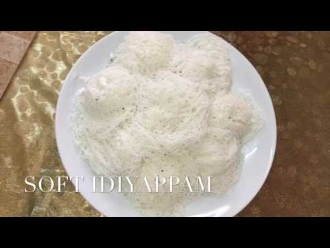 how to make soft Idiyappam kerala style - Divya's curry house