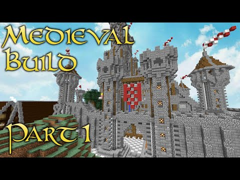 Minecraft Medieval Build - Part 1 - Surveying the Capital City!
