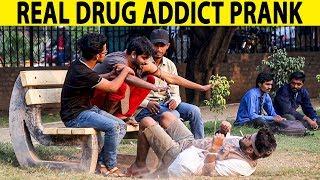 Drug Addict Prank Gone Wrong with Public - Part 2 - Lahori PrankStar