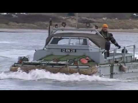Royal Marines DUKW at Crow Point