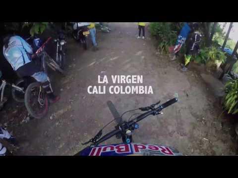 Marcelo Gutierrez Downhill Pista La Virgen Cali Colombia 2016