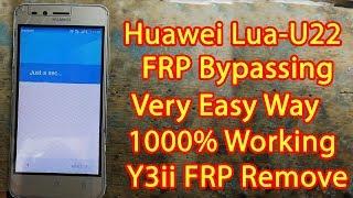 Huawei lua u22 frp GOOGLE ACCOUNT BYPASS NEW METHOD - PakVim