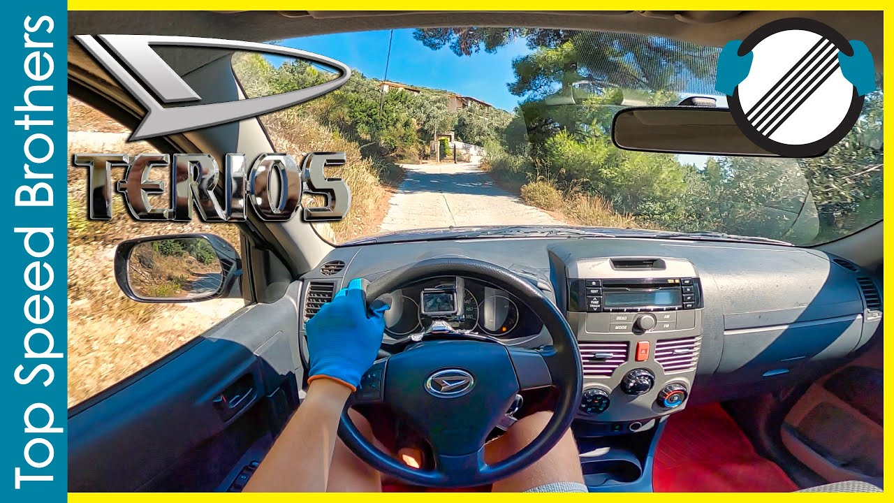 Download Daihatsu Terios J200 102hp (2010) POV TEST DRIVE ONBOARD Greece 🌴 MP3 Gratis