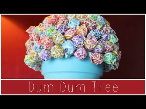 DIY DUM DUM LOLLIPOP TREE | Allie Young