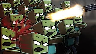 Zombies Base Defense - Minecraft! (NEW HYPIXEL GAME)