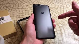 iDLEHANDS Slim Clear Bumper Case For OnePlus 5 BiG Unboxing and Review
