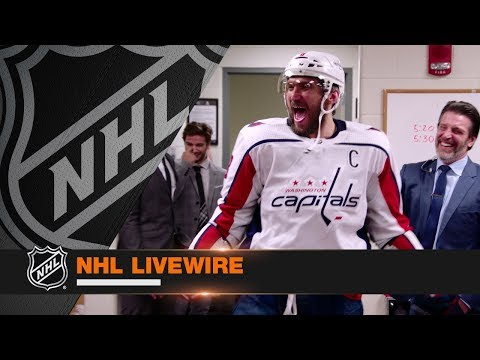 NHL LiveWire: Capitals mic'd up in dramatic OT win to eliminate Penguins