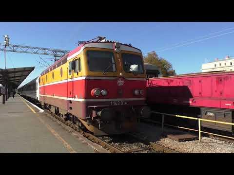 (HD) Croatia - Trains at Zagreb Glavani Kolodvor 19/10/17