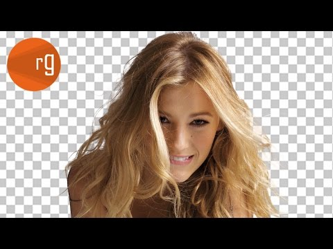 How to cut out hair from a background - Photoshop CC Tutorial