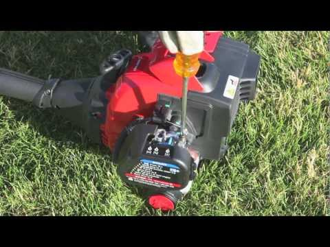 The TB32 EC gas string trimmer | How to set up your 2-cycle trimmer