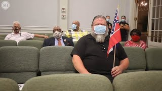 Gulfport residents react to city removing Mississippi State flag