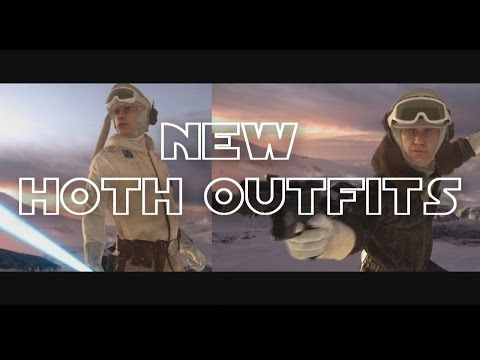 NEW HOTH OUTFITS! (PS4 Gameplay) Star Wars Battlefront
