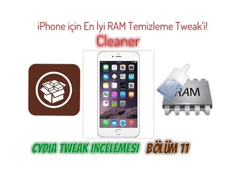 Cleaner(iPhone için Süper RAM Temizleyici): Cydia Tweak İncelemesi & Bölüm 11