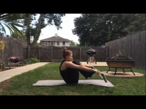 One Foot Workout - Crutches